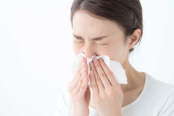 画像:花粉症(アレルギー性鼻炎)